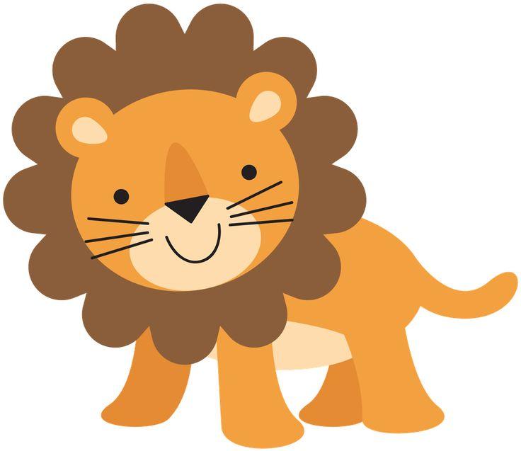 Safari Animal Cartoons For Baby Shower