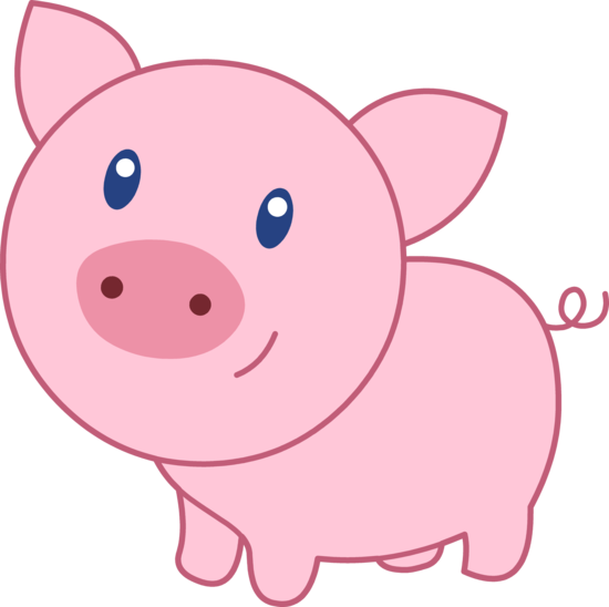Pig cartoon images clip art