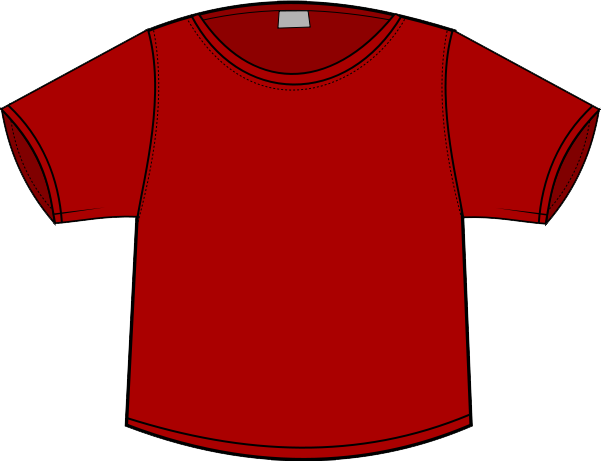 Of Red T Shirt Clip Art Funny - Free Clipart Images