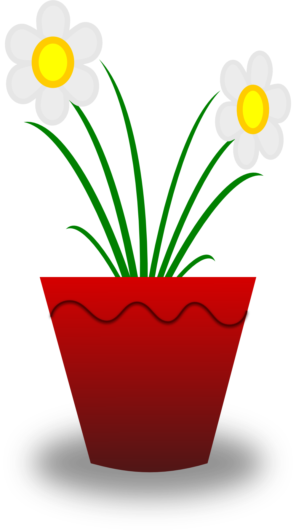 Flower Pots Clip Art - Vector Clip Art Online, Royalty ...