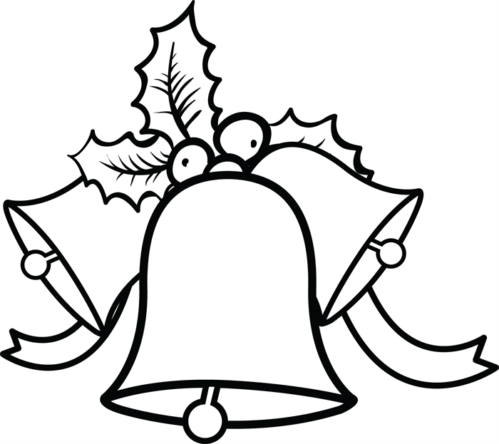 coloring pages of wedding bells - photo#35