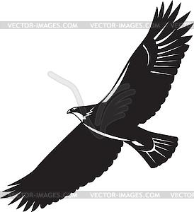 Clip Art Of Flying Eagle - ClipArt Best