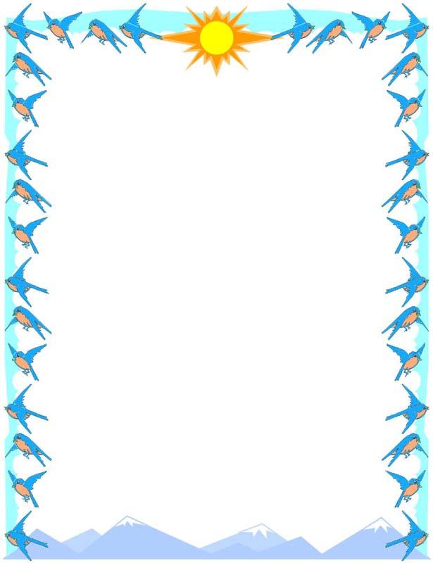 Summer Clip Art Borders - ClipArt Best