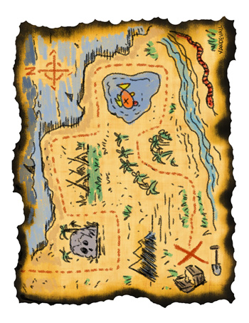 Smart image throughout printable treasure maps