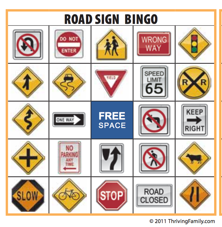free printable traffic signs   clipart best