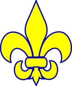 High Resolution Boy Scout Flor-de-lis - ClipArt Best