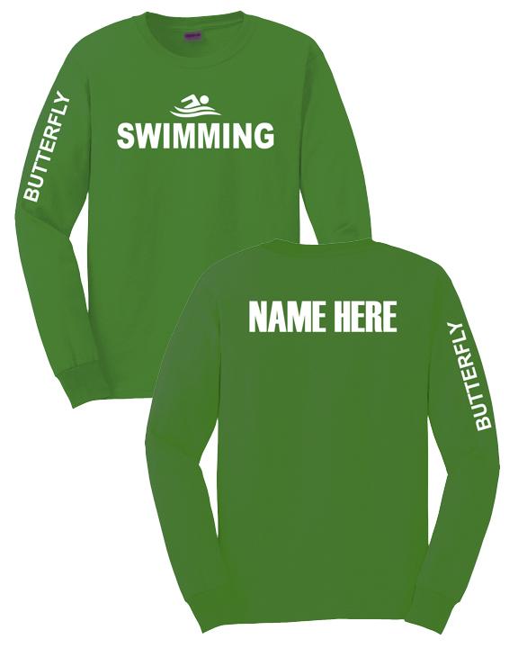 Green T Shirt Back - C...