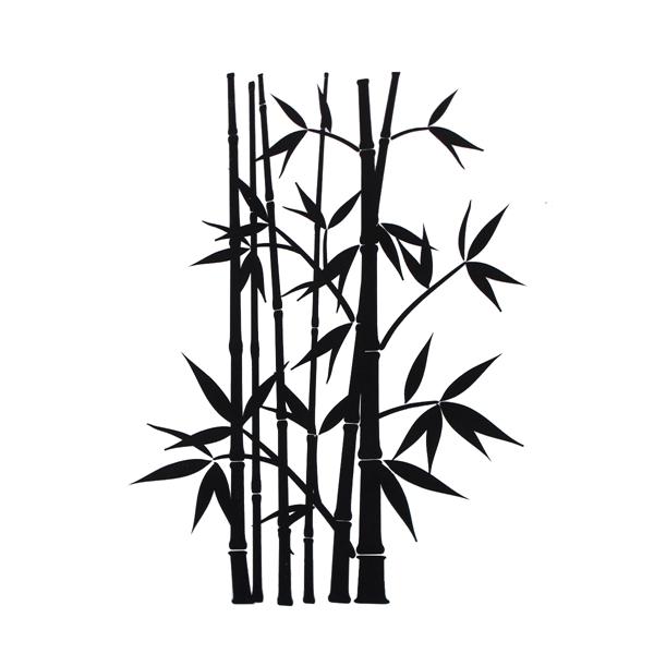 Gambar pohon hitam putih clipart best for Mural hitam putih