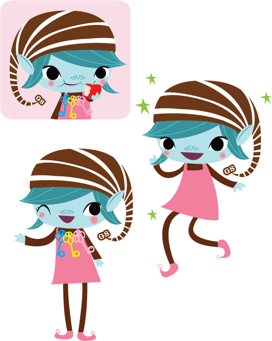 Girl Scout Brownie Clipart