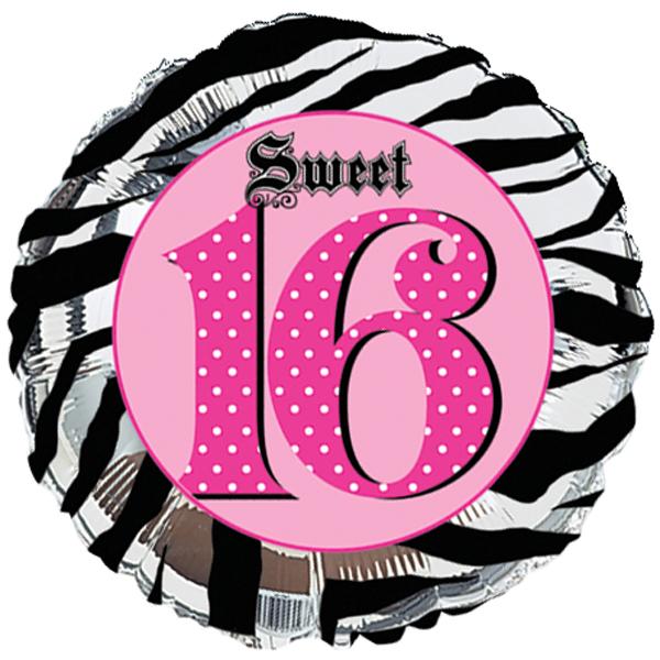 16th Birthday Clip Art