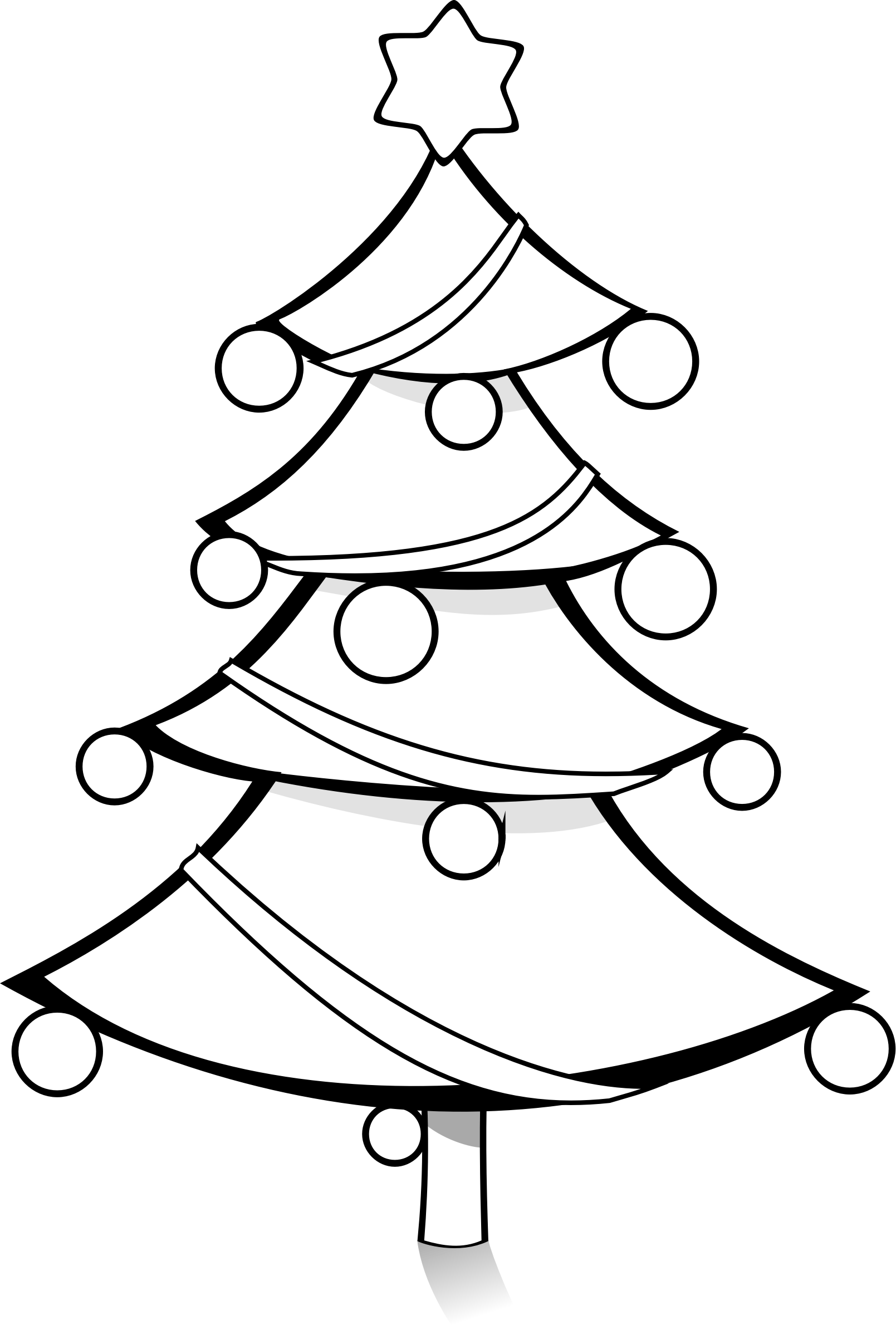 Christmas Ornaments Clipart Coloring - ClipArt Best