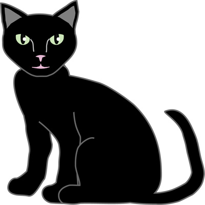 Free Clipart Halloween Black Cat