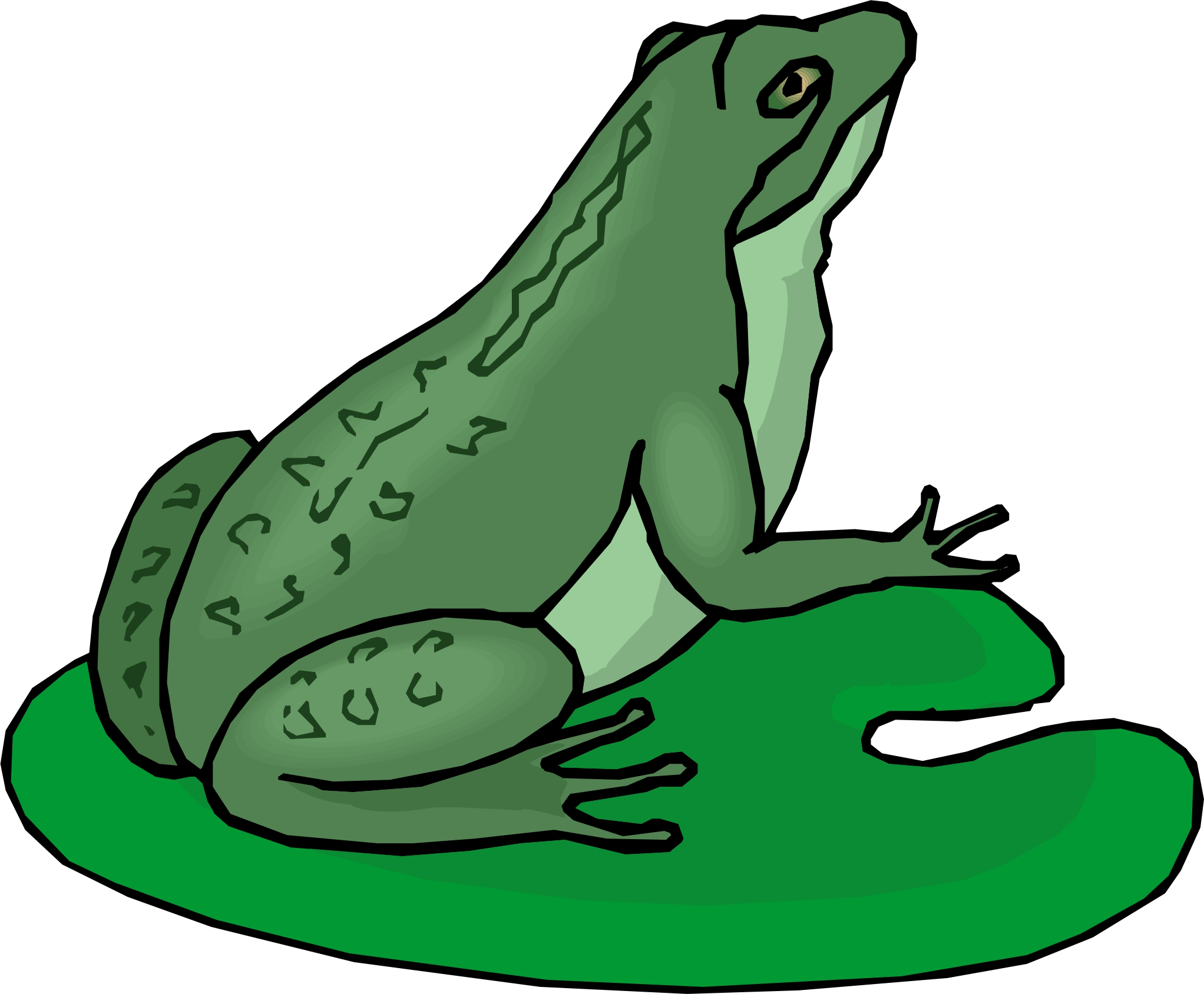 cartoon frog pictures - photo #19