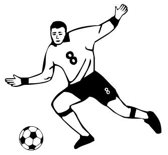 Soccer Player Clipart - ClipArt Best