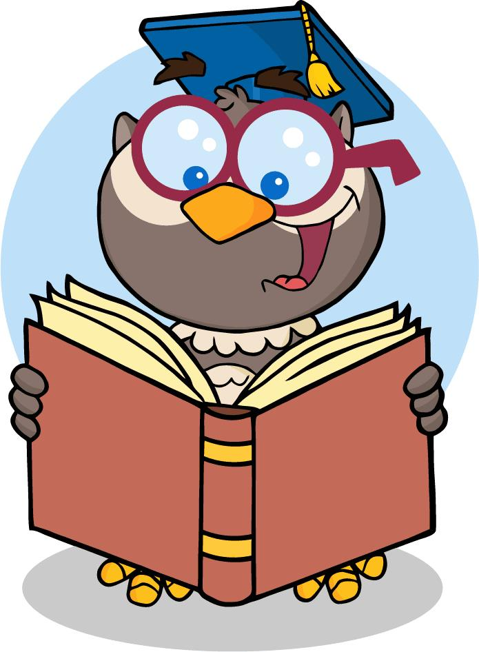 Free Education Clipart Owl - ClipArt Best