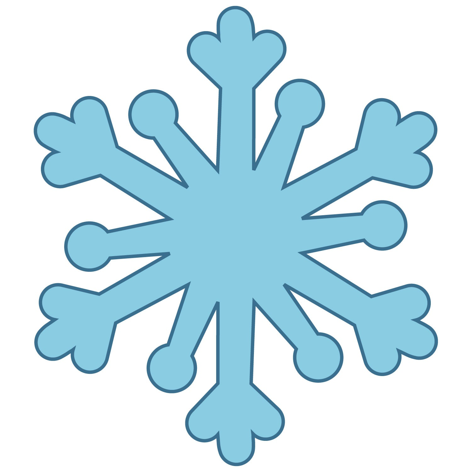 how to cut the perfect snowflake
