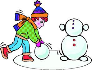 Making A Snowman Clip Art - ClipArt Best