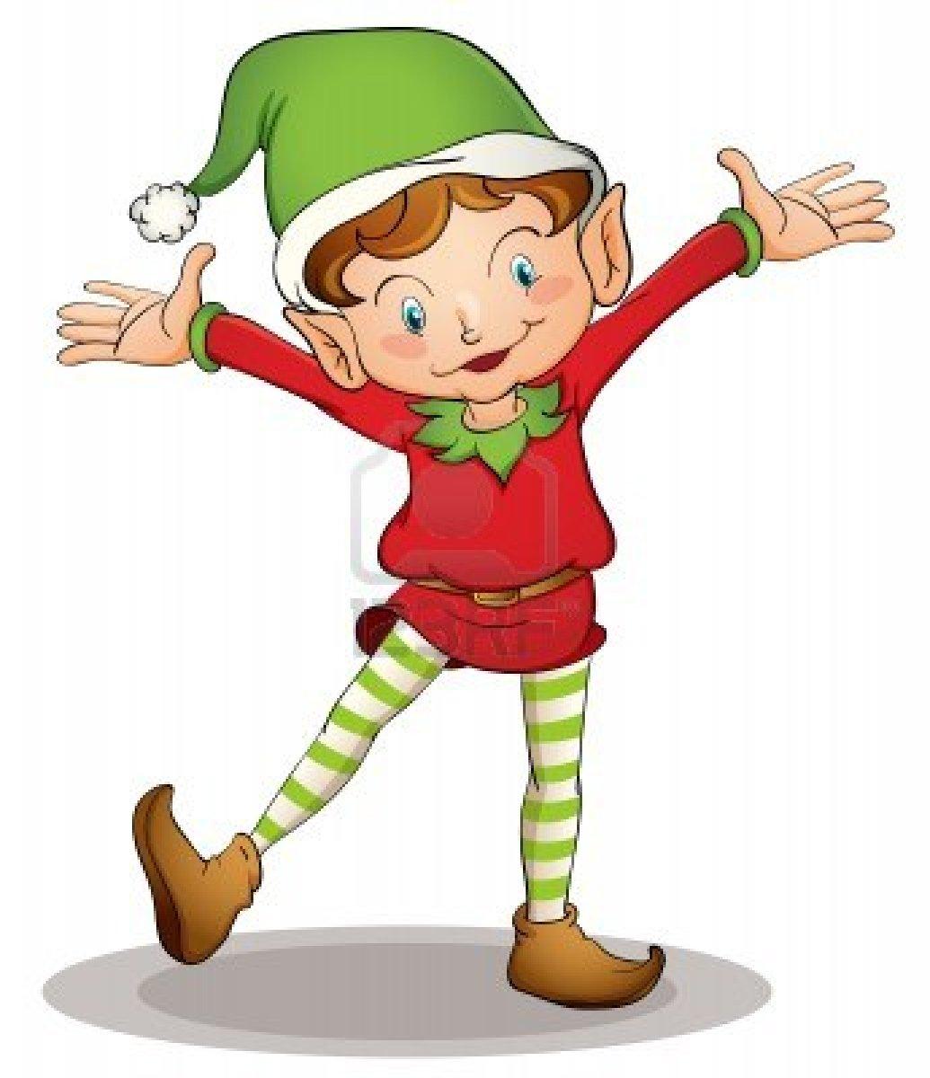 Christmas Elf Image Clipart Best
