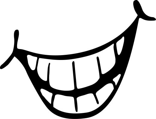 Happy Smiles Mouth Clipart