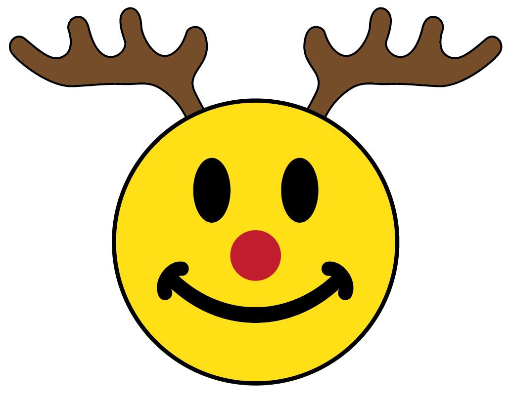 Santa Smiley Face