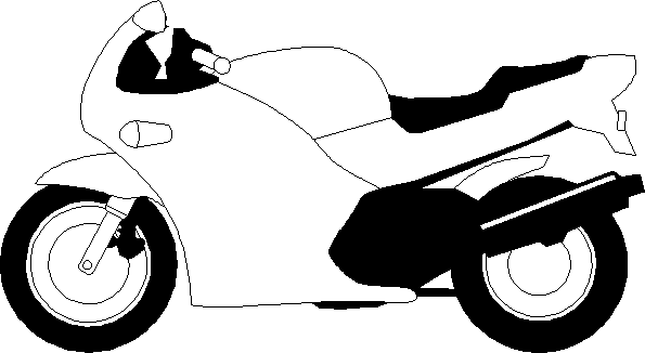 Clipart Motorbike - ClipArt Best