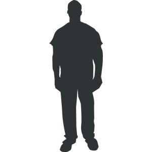 Clip Art Outline Of A Person - ClipArt Best