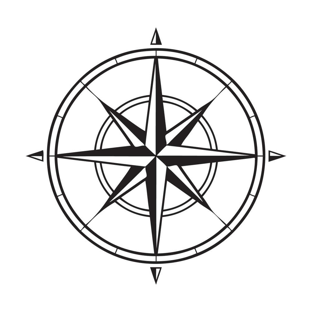 Compass rose clip art free vector in open office drawing svg ...