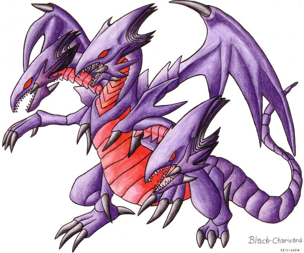 Blue Eyes White Dragon And Red Eyes Black Dragon Wallpaper