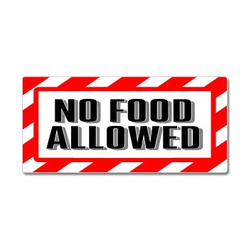 No Food Allowed Signs - ClipArt Best