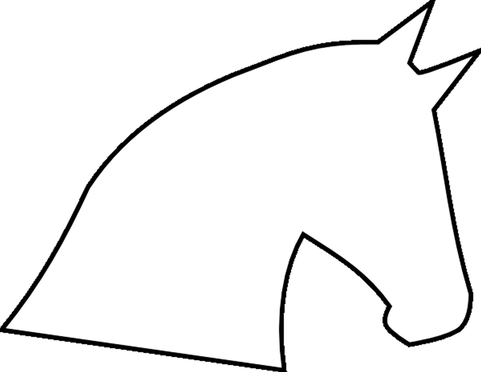 Horse Face Line Drawing : Horse head line drawing clipart best