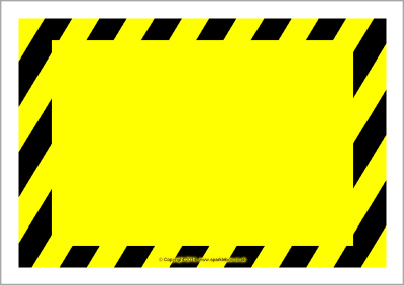 Free Warning Sign Template - ClipArt Best
