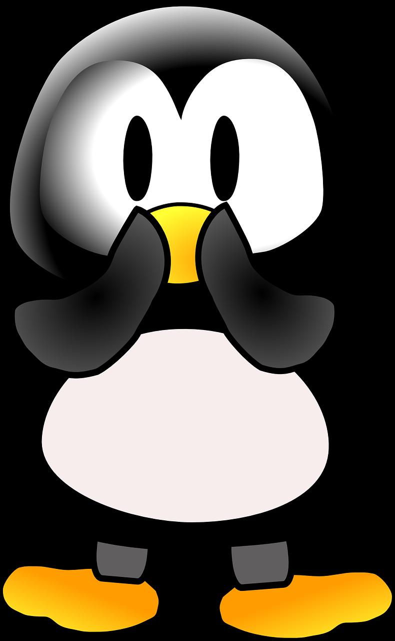 crazy penguin   clipart best