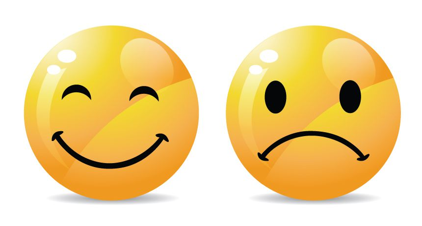 Smile And Sad Face - ClipArt Best