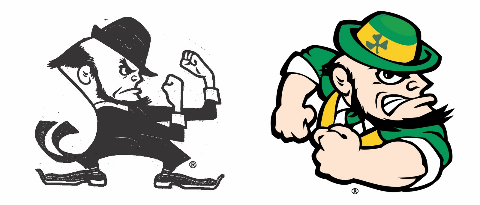 How To Draw Notre Dame Leprechaun - ClipArt Best
