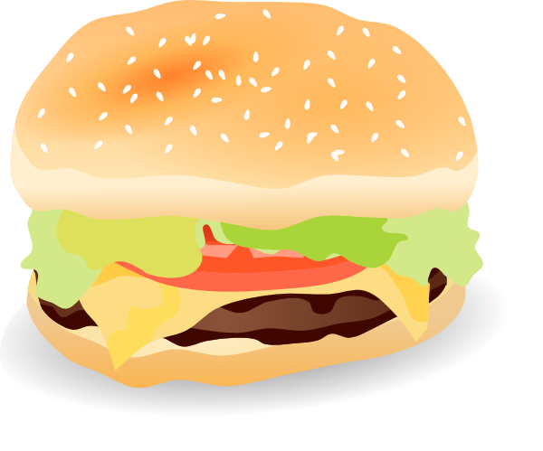 Hamburger Clip Art Pictures - Free Clipart Images