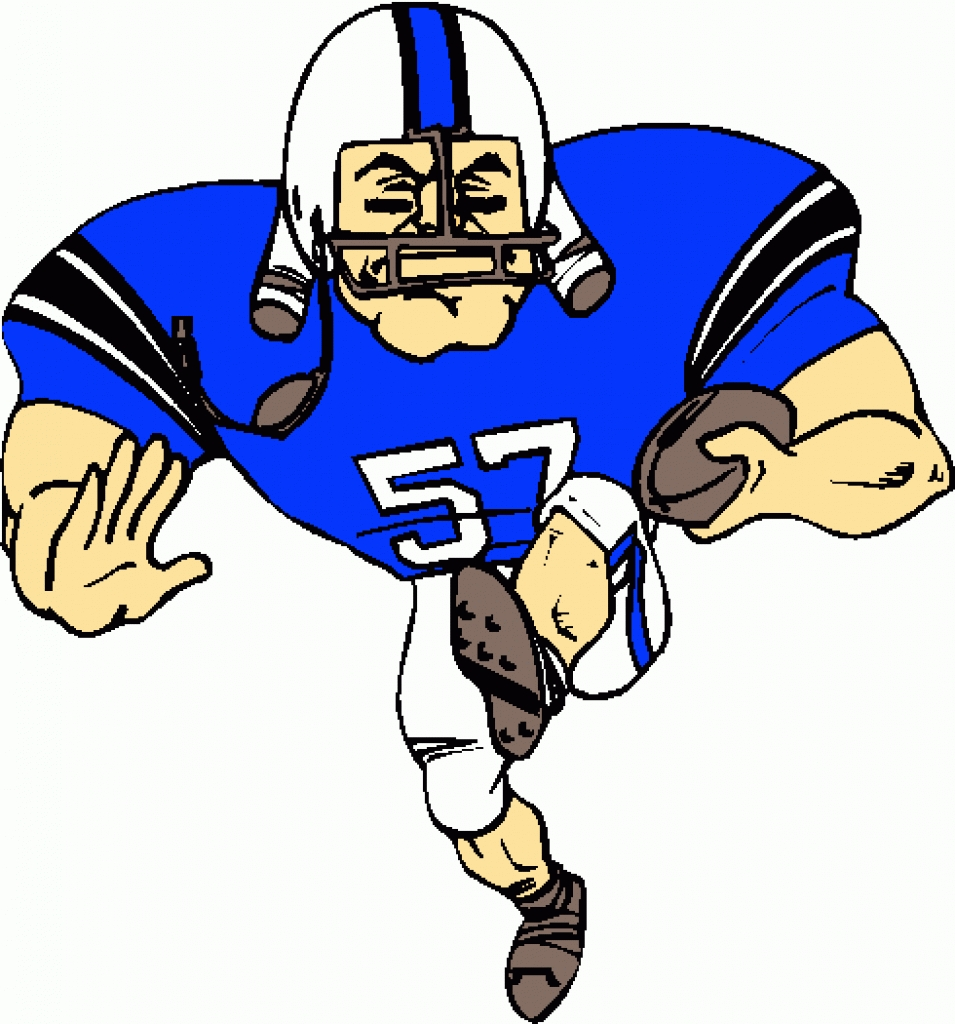 football player clipart best Football Player Clip Art Cool Football Player Clip Art