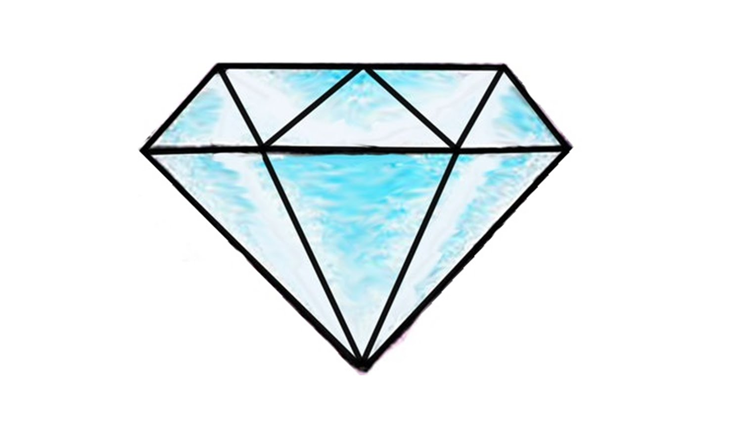 diamante drawing clipart best