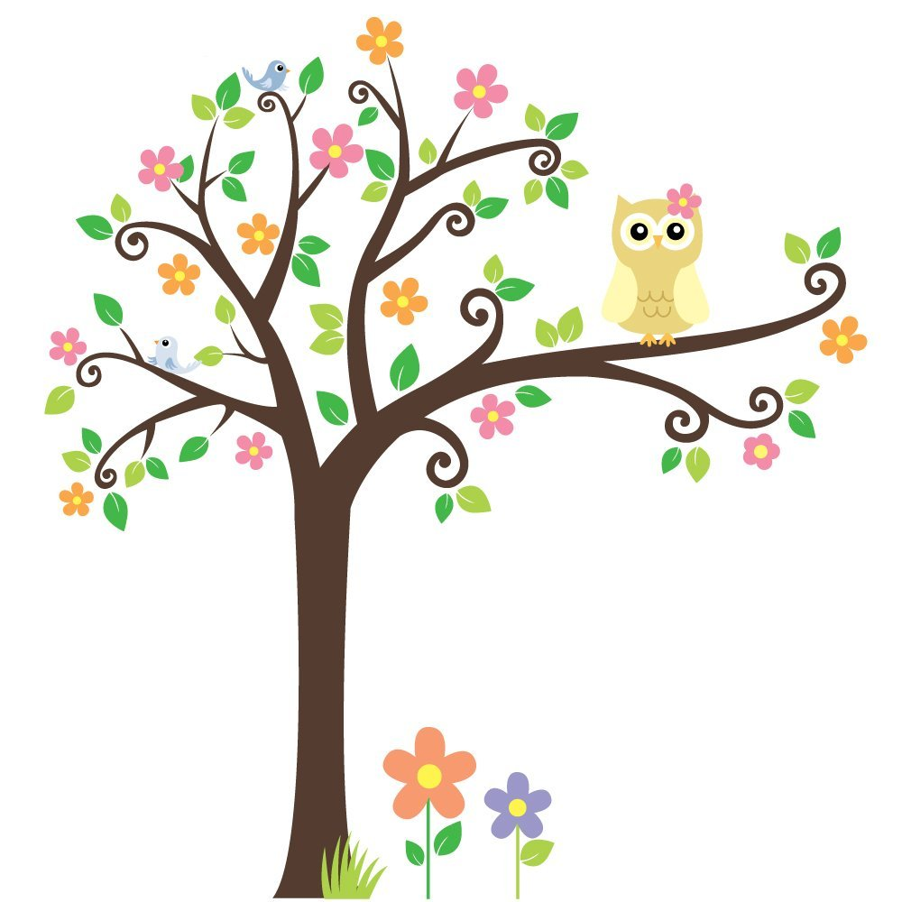 Pretty Cartoon Tree Clipart Best