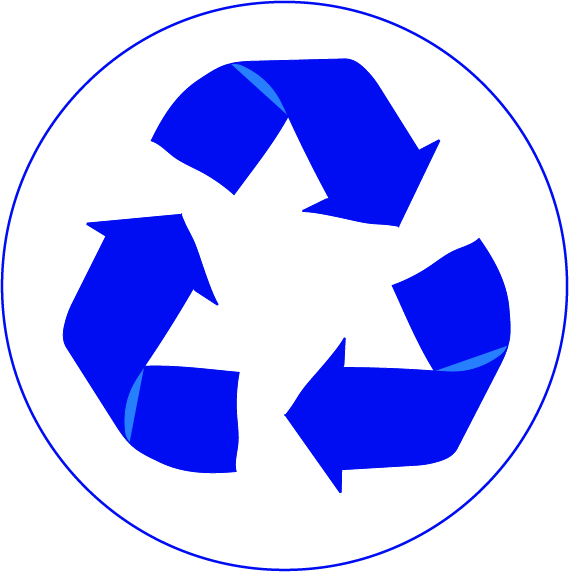 Logo Recycle Blue - ClipArt Best
