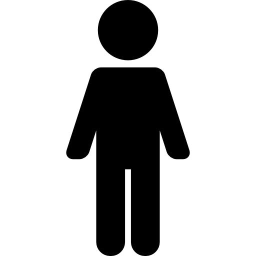 Standing person symbol