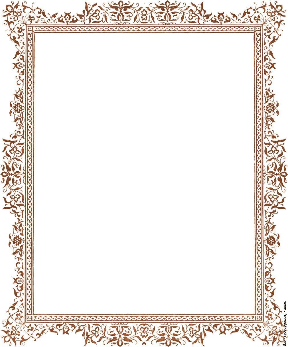 Photo frames design clipart best for Frame designs