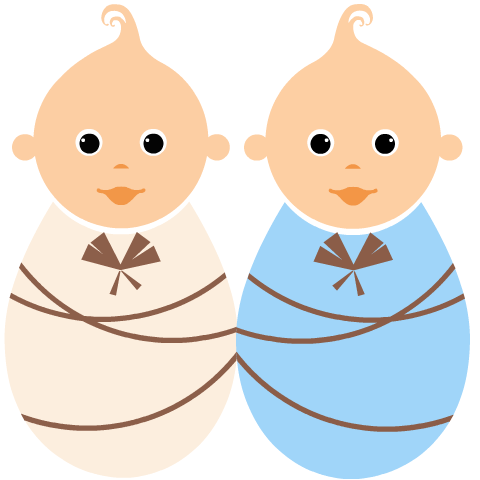 Twin Baby Clipart Clipart Best