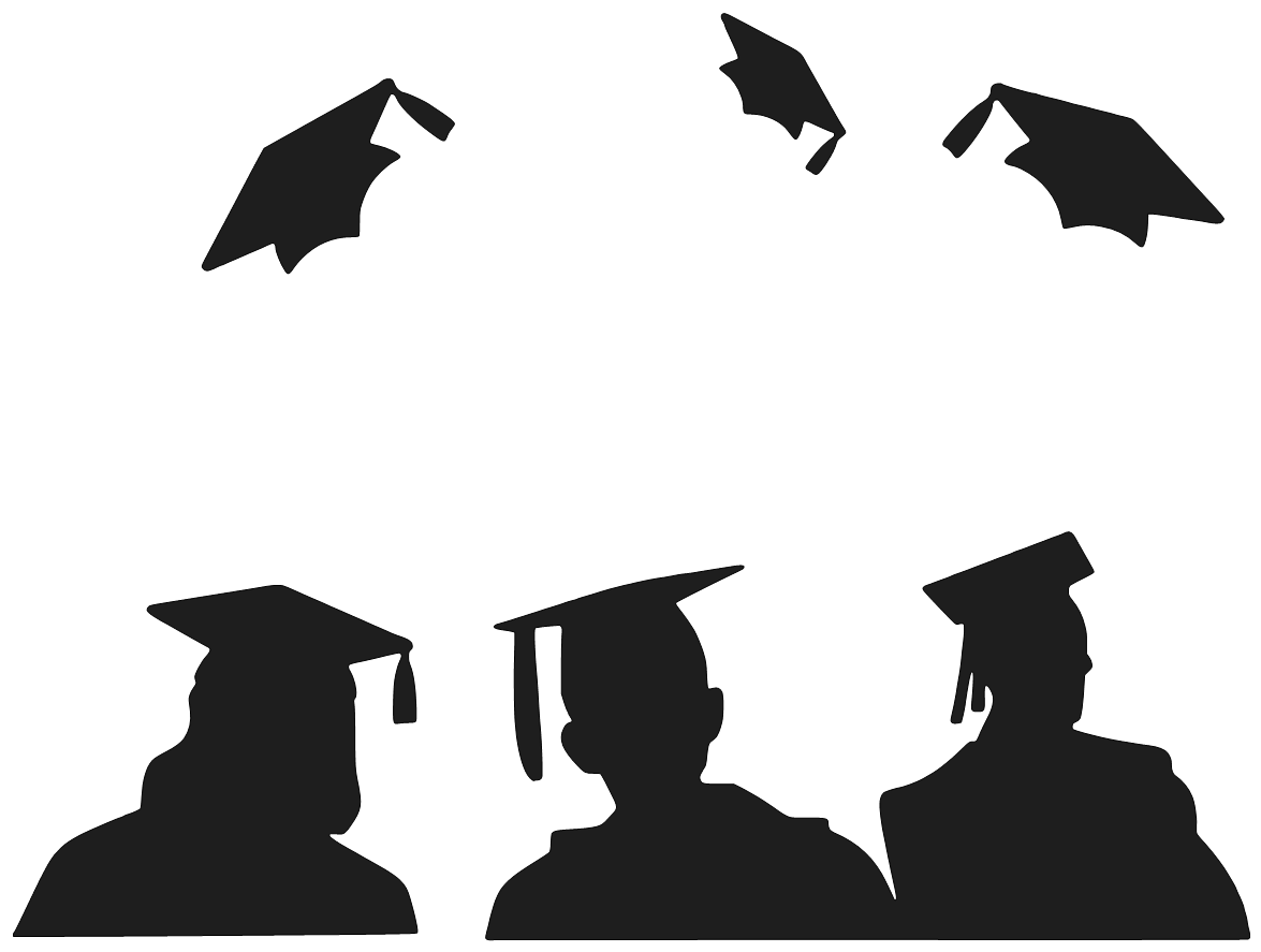 Graduation Series Day 10 of 10: GRADUATE SILHOUETTE + BONUS ...