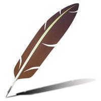pen SVG  aurora beacon Quill Pen Png