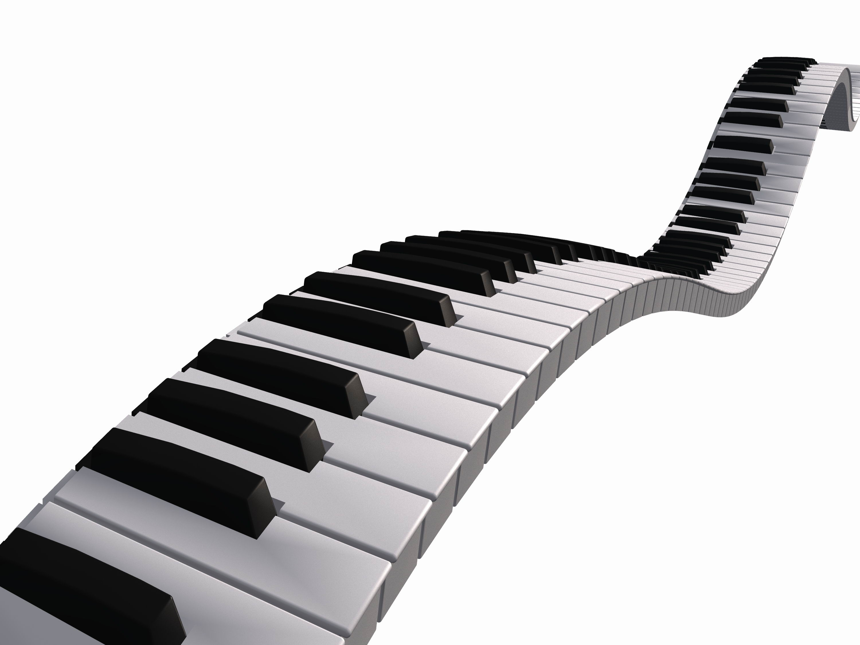 Wavy Piano Keys Clip Art - Best HOBBY Wallpapers - ClipArt ...