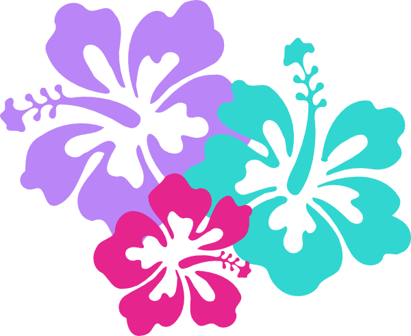 Clip Art Hawaiian Flowers - ClipArt Best