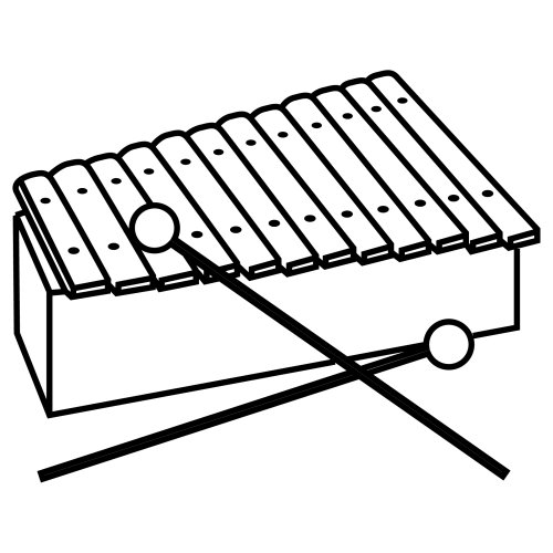 Xylophone Coloring Pages Clipart Best Clipart Best
