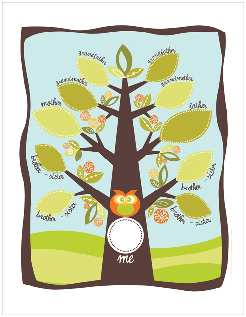 Printable Family Tree Clipart Best