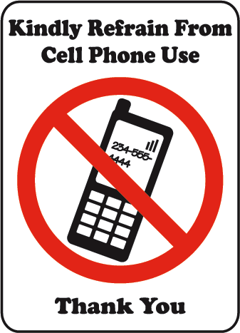 No Cell Phone Use - ClipArt Best
