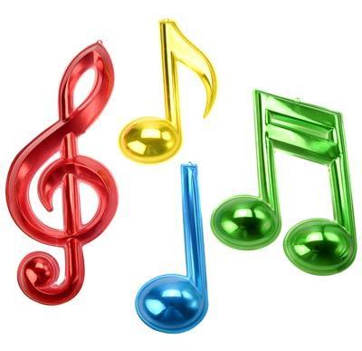 10 Notas Musicales de Colores